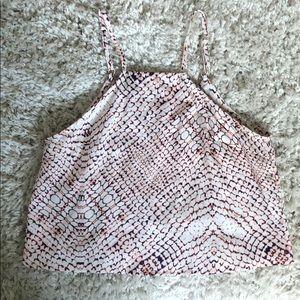 Boutique snakeskin blouse